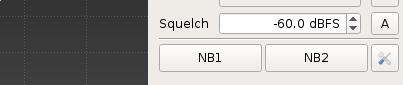 gqrx squelch dBFS